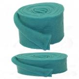Wollband Lehner Wolle petrol in 2 Größen