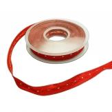Weihnachtsband Exzellent rot 15mm20m 1Stk