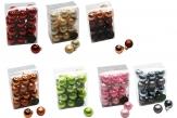 Christbaumkugel verschiedene Farben sortiert 25mm 24Stk