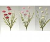 Wiesenblumen in drei Farben 60cm 3Bund