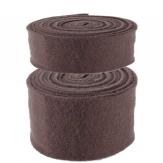 Wollband Lehner Wolle braun in 2 Größen