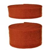 Wollband Lehner Wolle kupfer in zwei Größen