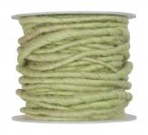 Wollschnur Wollband mint 5mm10m