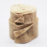 Wollband Lehner Wolle taupe in 2 Größen