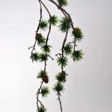 Zedernzweig mit Zapfen hängend 107cm 1Stk