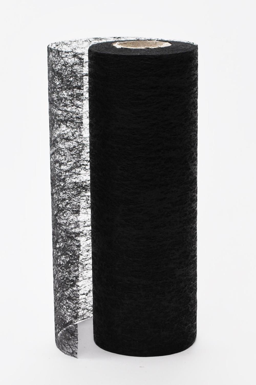 deko vlies schwarz 23cm 25m g nstig kaufen. Black Bedroom Furniture Sets. Home Design Ideas