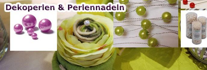 Deko Perlen & Perlennadeln