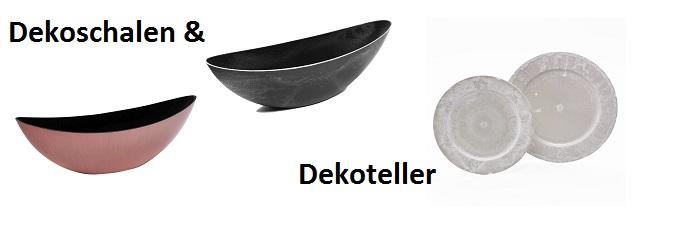 Dekoteller & Schalen