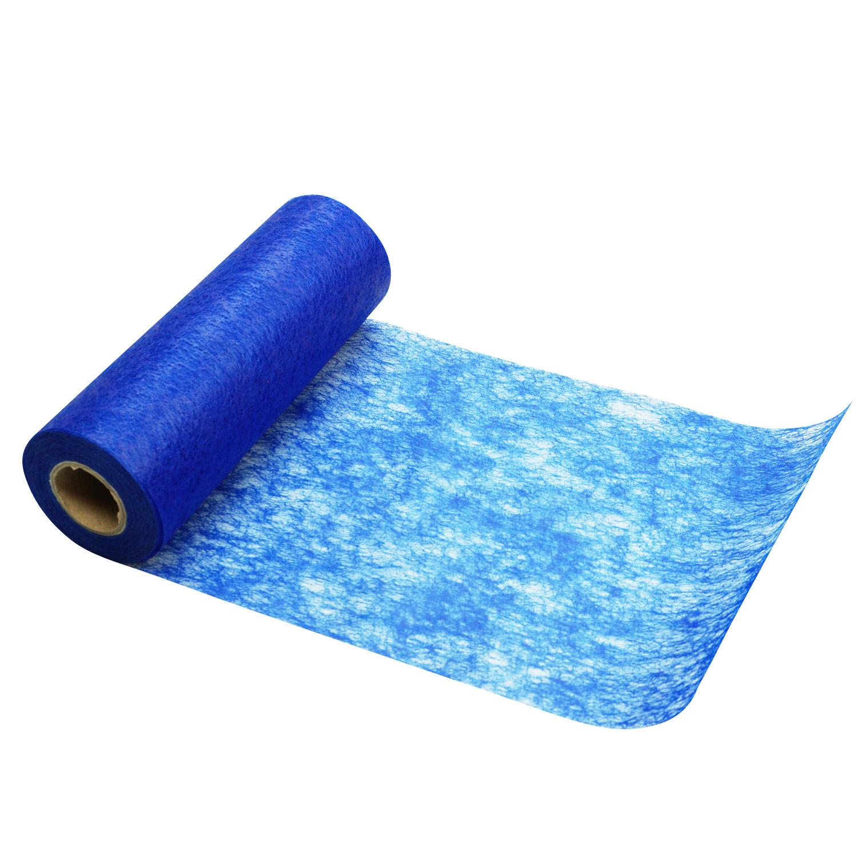 Deko vlies blau 23cm25m 1stk g nstig kaufen - Deko blau braun ...