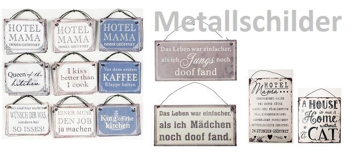 Metallschilder