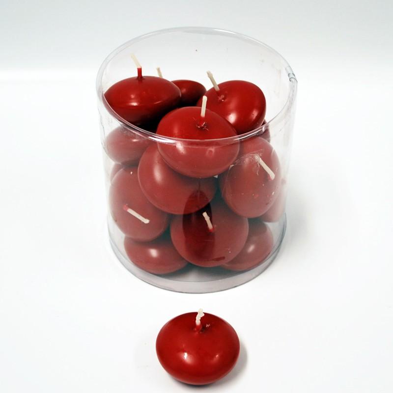 Schwimmkerzen rot 4 5 cm 20 st ck g nstig kaufen for Schwimmkerzen kaufen
