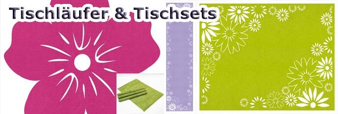 Tischläufer & Platzsets