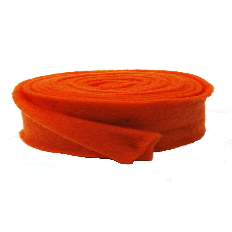 wollvlies topfband lehner wolle orange 075mm5m g nstig kaufen. Black Bedroom Furniture Sets. Home Design Ideas